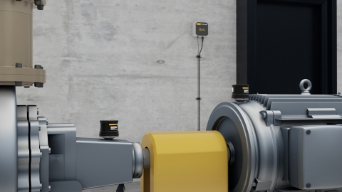 The Fluke 3563 combines a high-frequency piezoelectric sensor, two MEMS sensors, and software, enabling maintenance teams to continuously monitor and analyze vibration readings for a facility's critical and semi-critical assets. (Photo: Business Wire)