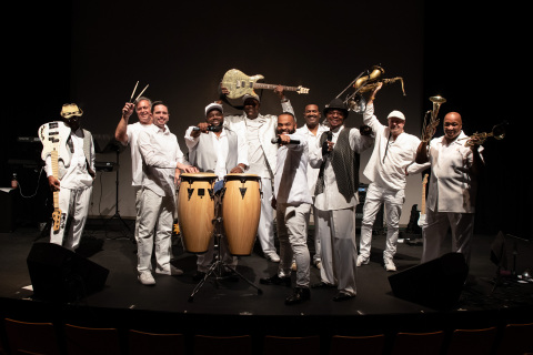 Let's Groove Tonight, the Ultimate Earth, Wind & Fire Tribute Band, will perform at Rivers Casino Philadelphia's July 4th riverfront block party, which starts at 5 p.m. (Photo: Business Wire)