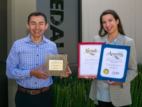 2021 SUSTAINABILITY AWARD for advancing sustainability in San Mateo County. (Photo: Business Wire)