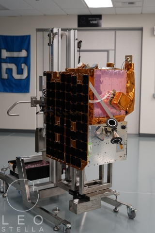 """LeoStella delivered the """"Yet Another Mission-3"""" (YAM-3) satellite to Loft Orbital. (Photo: Business Wire)"""