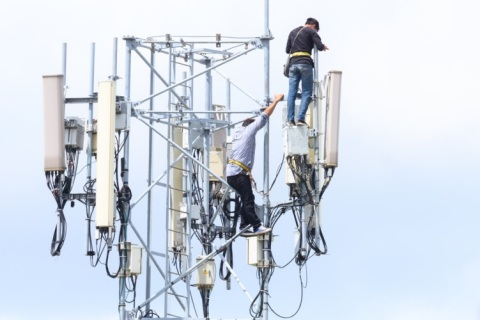 Operators Speed 5G Network Upgrades with CommScope's HELIAX (Photo: Business Wire)