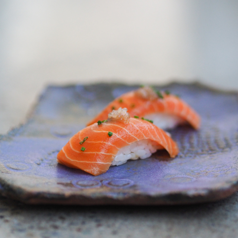 Wildtype sushi-grade, cell-cultivated salmon (Photo: Business Wire)