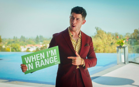 Nick Jonas, the Global Movement for Time in Range (Photo: Business Wire)