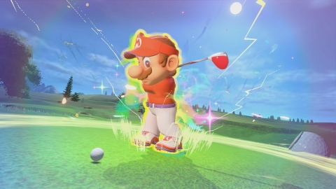 The Mario Golf: Super Rush game will be available on June 25. (Photo: Business Wire)