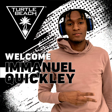 Turtle Beach and Immanuel Quickley, One of the NBA's Brightest Young Stars, Join Forces to Showcase His Passion for Gaming and His Competitive Skills Beyond the Hardwood (Graphic: Business Wire)