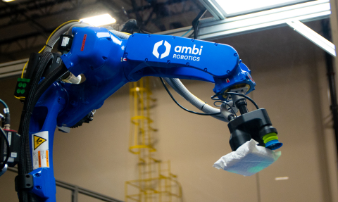 AmbiSort system processes parcels in a Pitney Bowes ecommerce hub in Bloomington, Calif. (Photo: Business Wire)