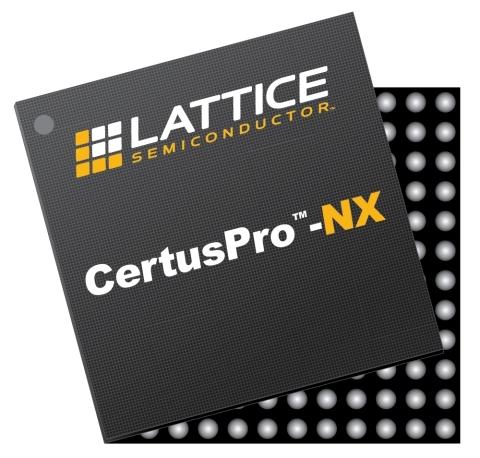 The Lattice CertusPro-NX general purpose FPGA (Graphic: Business Wire)