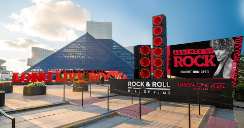 Rock & Roll Hall of Fame, Union Home Mortgage Plaza (Photo: Business Wire)