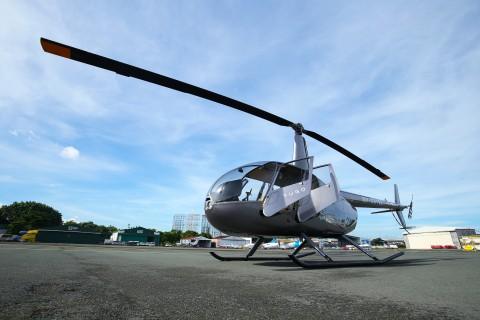 Yugo私人航空公司用于短途城市空运直升机接送的罗宾逊R44型直升机包机(照片:美国商业资讯)