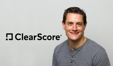 Justin Basini, CEO and Co-Founder of ClearScore (Photo: Business Wire)