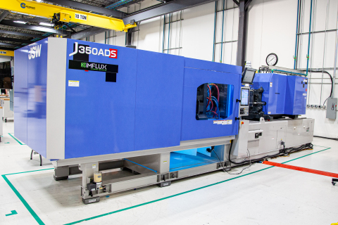 JSW J350ADS-460H-US in the Innovation and Education Center at iMFLUX, Hamilton, Ohio. (Photo: Business Wire)