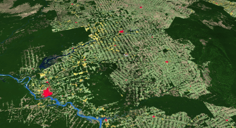 Esri releases first-ever high-resolution (10-meter), 2020 global land cover map (Photo: Business Wire)