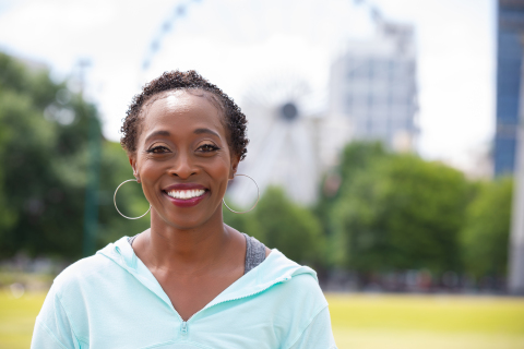 Gail Devers (Photo: Business Wire)