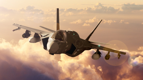BAE Systems is providing additional EW systems, retrofit kits, and spares for the F-35 – delivering critical situational awareness and survivability capabilities. (Photo:  BAE Systems)
