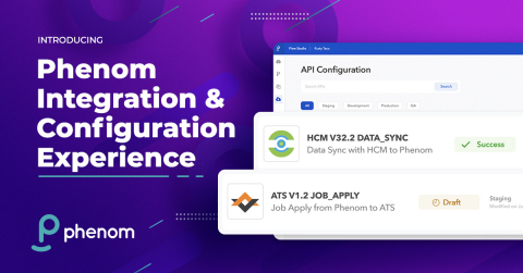 Phenom Integration and Configuration Experience is a collection of intuitive self-service tools that leverages automation to accelerate initial implementations and simplify ongoing change management. (Graphic: Business Wire)