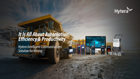 Hytera's digital communications solution gives the mining industry a competitive edge (Graphic: Business Wire)