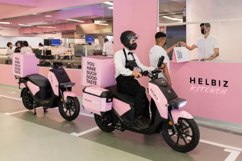 Helbiz Launches Helbiz Kitchen to Revolutionize Food Delivery (Photo: Business Wire)