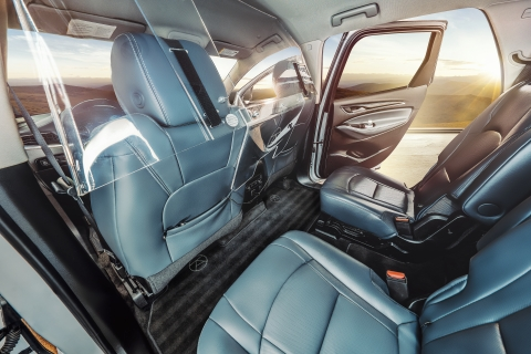 Alto vehicles are cleaned between each ride and detailed between shifts by a dedicated team. Each vehicle is outfitted with thoughtful amenities, including complimentary bottled water, umbrellas, in-vehicle WiFi, charging cables, and even a signature Alto scent. (Photo: Business Wire)