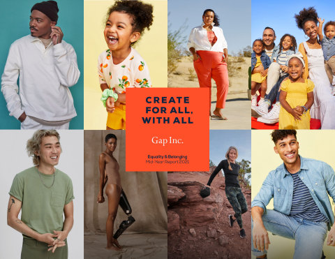 Gap Inc.'s 2021 Equality & Belonging Report (Graphic: Business Wire)