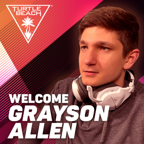 Turtle Beach and Grayson Allen Joins Forces as He Becomes Turtle Beach's Latest Gaming Ambassador. (Photo: Business Wire)