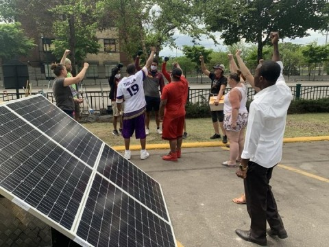 Schneider Electric and Footprint Project partner to aid disaster relief efforts by mobilizing microgrids for communities in critical need. (Photo: Business Wire)