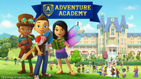 Adventure Academy is a first-of-its-kind massively multiplayer online education game (MMO) for elementary and middle school students. (Graphic: Business Wire)