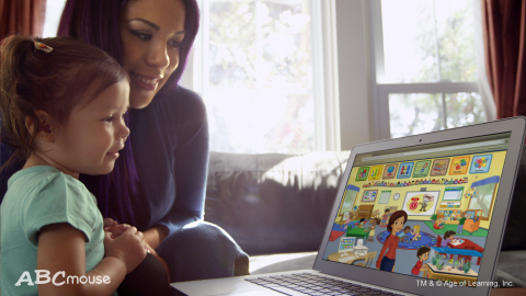 ABCmouse is the #1 digital education program for children ages 2-8 in the U.S. and will expand to include more personalized experiences for kids. (Photo: Business Wire)