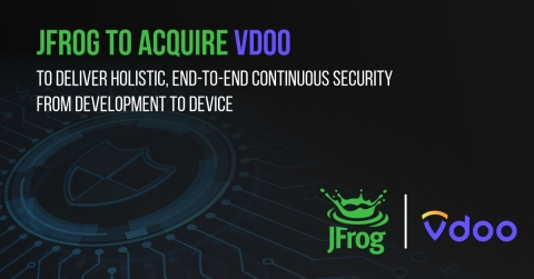 JFrog announces agreement to acquire Vdoo (Graphic: Business Wire)
