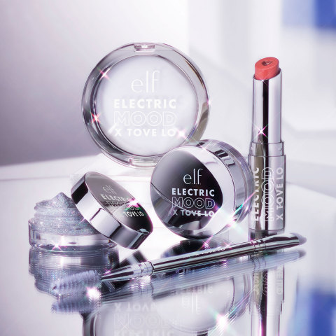 e.l.f. Cosmetics' limited-edition Electric Mood collection inspired by music artists, Tove Lo, Pitizion and Tiana Major9, is exclusively available at elfcosmetics.com and Target Style. (Photo: Business Wire)