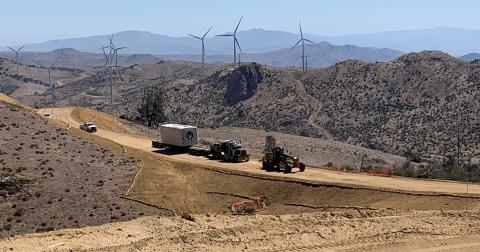 在世界上一些最偏遠的地方,C.H. Robinson羅賓遜全球物流幫助再生能源公司管理複雜專案的供應鏈和物流。(照片:美國商業資訊)