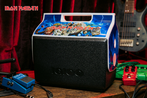 Igloo pays tribute to heavy metal legends through special-edition Iron Maiden Playmate cooler. (Photo: Business Wire)