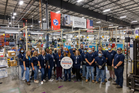 GE Zoneline Ultimate V10 VTAC Team (Photo: GE Appliances, a Haier company)