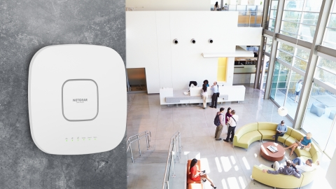 Insight™ Managed WiFi 6 Tri-band Access Point WAX630 (Photo: Business Wire)