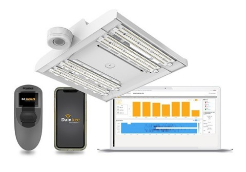 Albeo high bay fixtures with Daintree EZ Connect built in provide simple, scalable and flexible lighting controls for industrial spaces.