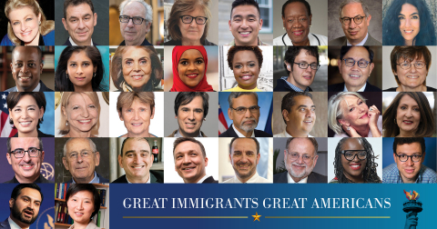 The 2021 Class of #GreatImmigrants — doctors and scientists, teachers and community leaders, advocates and changemakers — improve lives every day through their work. Read their stories. Carnegie.org (Graphic: Business Wire)