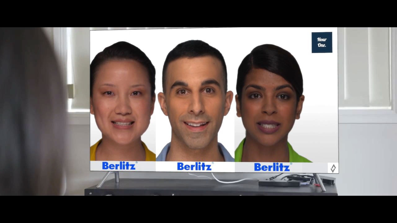 Berlitz Leverages Hour One to Scale Instructor-led Learning and Digitally Transform its Business