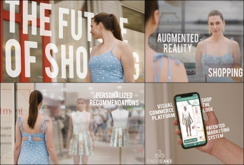The newest addition to FaceCake's AI-driven AR shopping platform is the Infinite Virtual Closet, the personalized, shoppable, digital wardrobe. (Photo: Business Wire)