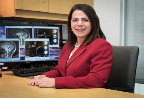 Kristina Deligiannidis, MD, associate professor, the Feinstein Institutes for Medical Research (Credit: The Feinstein Institutes for Medical Research)