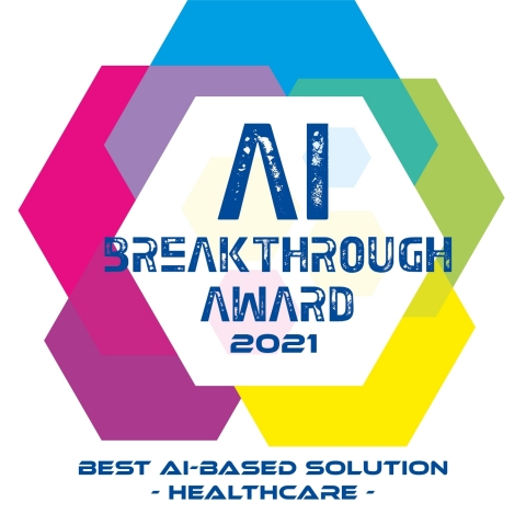 """Medidata Acorn AI Synthetic Control Arm® Named """"Best AI-based Solution for Healthcare"""" by 2021 AI Breakthrough Awards (Graphic: Business Wire)"""