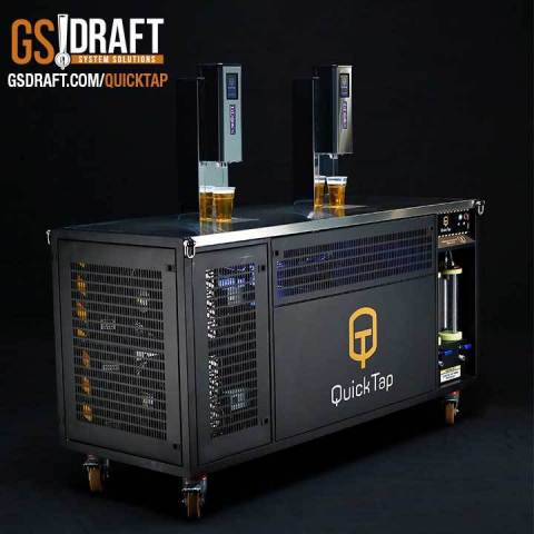 High Speed, High-Volume Portable Beer Dispensing System (Photo: Business Wire)