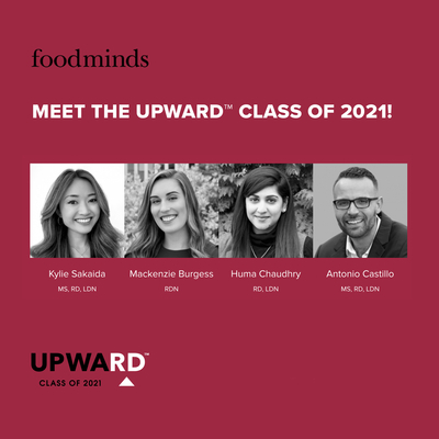 FoodMinds Announces upwaRD™ Class of 2021 (Graphic: FoodMinds, a division of Padilla)