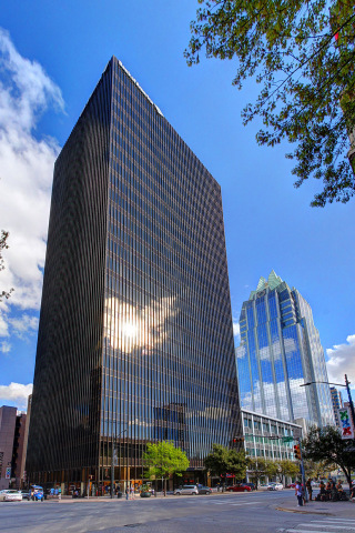 KBS' 515 Congress and Global Digital Company PMG Mark Their Growth on Austin's Skyline with a Class A Office Tower Lease Including Building Signage and Deck Access (Photo: Business Wire)