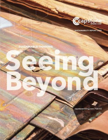 Capstone Mining 2020 Sustainability Report (Graphic: Business Wire)