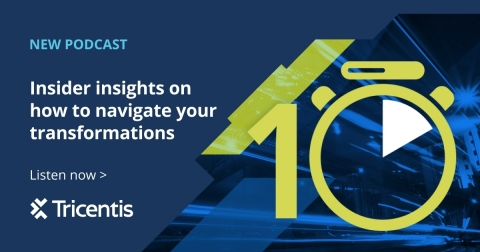 Get insider insights for navigating the transformations impacting the application delivery world. Quality, DevOps, cloud, and business innovators share ideas in 10-minute episodes. Grab a coffee and tune in! Tricentis.com/podcast (Graphic: Business Wire)
