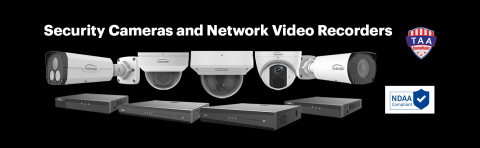 Adesso launches Gyration security-based solutions - cameras and network video recorders. (Graphic: Business Wire)