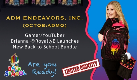 Brianna at RoyallyB New Back to School Bundle (Photo: Business Wire)