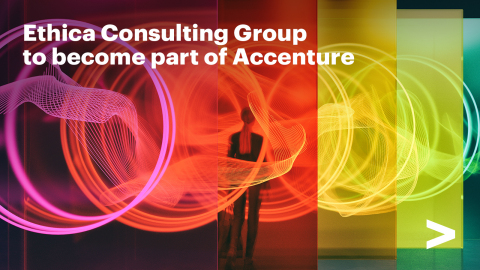 Ethica Consulting Group to become part of Accenture (Graphic: Business Wire)