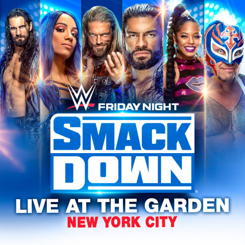 WWE® FRIDAY NIGHT SMACKDOWN® LIVE AT THE GARDEN (Photo: Business Wire)