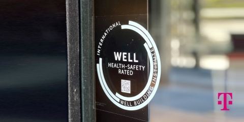 The Un-carrier puts people first, meeting rigorous standards established by International WELL Building Institute and 600+ public health experts to earn WELL Health-Safety Rating at thousands of locations (Photo: Business Wire)