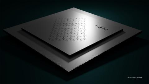 Un ejemplo de un procesador IQM (gráfico: IQM)